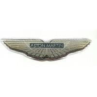 Parche textil ASTON MARTIN 3D 12cm x 3cm