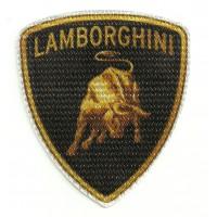 Textile patch LAMBORGHINI 9cm x 8cm