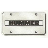 Textile patch HUMMER 10cm x 5,5 cm