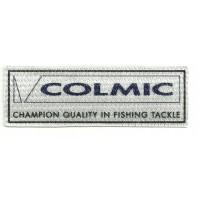 Parche textil COLMIC 9.5cm x 3cm