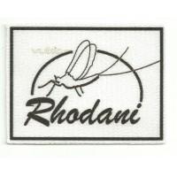 Parche textil RHODANI 8.5cm x 6.5cm