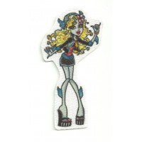 Textile patch MONSTER HIGH LAGONA BLUE 16cm x 6cm