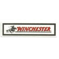 Textile patch WINCHESTER 10,5cm x 3cm
