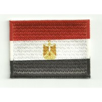Patch embroidery and textile FLAG EGYPT 7CM x 5CM