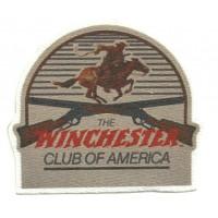 Parche textil WINCHESTER CLUB OF AMERICA 8cm x 7cm
