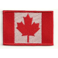 Patch embroidery FLAG CANADA 4cm x 3cm