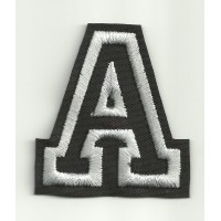 Patch embroidery LETTER A 5cm high