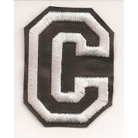 Patch embroidery LETTER C 5cm high