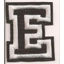 Patch embroidery LETTER E 5cm high