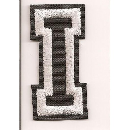 Patch embroidery LETTER I 5cm high