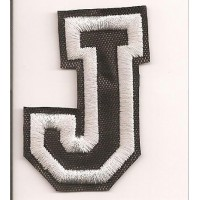 Patch embroidery LETTER J 5cm high