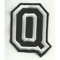 Patch embroidery LETTER Q 5cm high